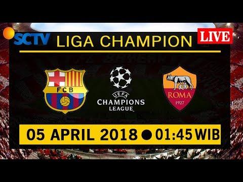 Jadwal Live Streaming Barcelona vs As Roma UEFA Champions League Siaran Langsung di TV