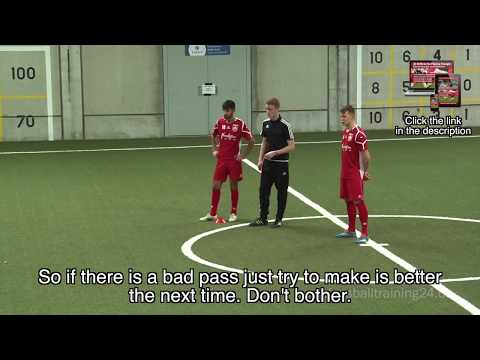 German Training Concepts – 23 Drills in the Passing-Triangle