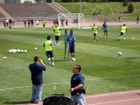 FC Barcelona Training in SF– Messi 3