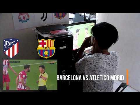 Barcelona vs Atletico Madrid Full highlights fan Reaction Messi Messi!
