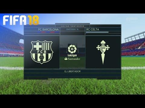FIFA 18 – FC Barcelona vs. Celta de Vigo @ El Libertador
