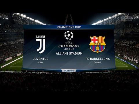 Juventus FC vs FC Barcelona  Champions League 22/11/2017  FIFA 18 Predicts – by Pirelli7