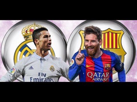 Real Madrid vs Barcelona 2-3 Full Match 1st Half – La Liga 23th April 2017