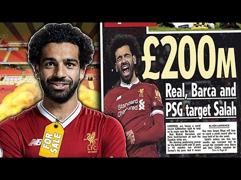 Real Madrid, Barcelona And PSG To BATTLE Over £200M Mohamed Salah?!   Transfer Talk