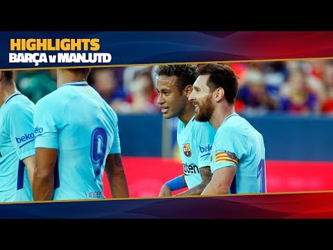 [HIGHLIGHTS] FC Barcelona – Manchester United (1-0) ICC 2017