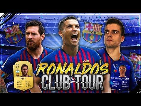 FIFA 19: RONALDO'S CLUB TOUR #2 FC Barcelona 🔥💥