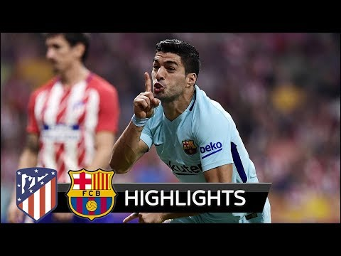 Atletico Madrid vs Barcelona 1-1 – All Goals & Extended Highlights – La Liga 14/10/2017 HD
