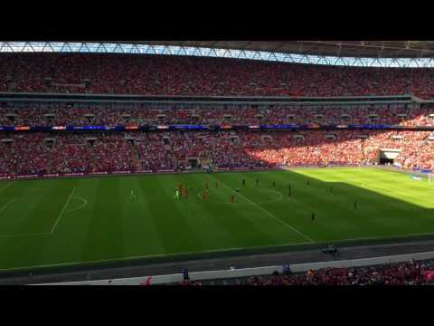 Liverpool vs Barcelona: YNWA In 4K at Wembley