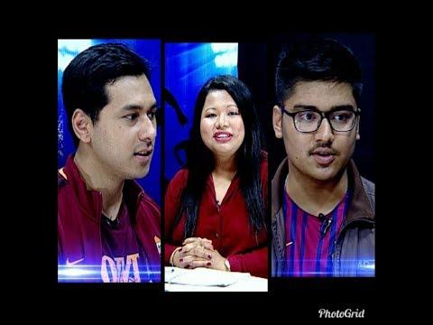 AS Roma VS Barcelona   Fans Review Samun Shrestha (Fan,AS Roma)&Sudesh Baniya(Fan, Barcelona) NOTGF