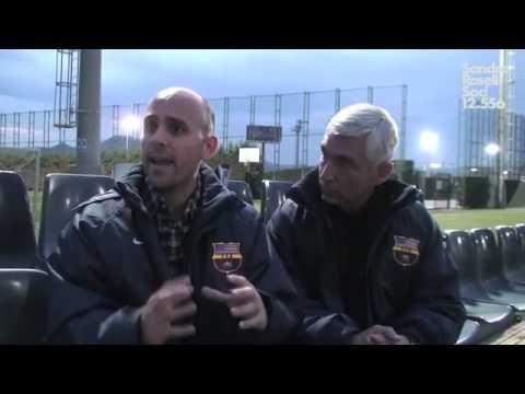 Barcaloco and Penya LA interviewed at FC Barcelona training facility