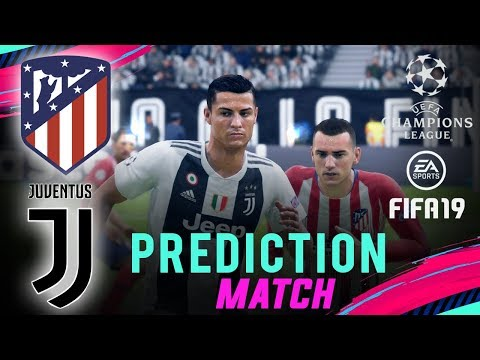 ATLÉTICO MADRID vs JUVENTUS | FIFA 19 UCL Predict Round Of 16 | Broadcast Camera – 1080HD