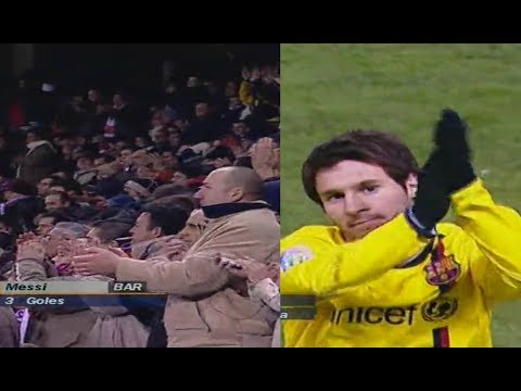The Day Messi Was Applauded by Atletico Madrid Fans After Destroying Their Team ● HD