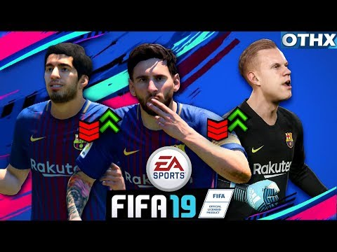 FIFA 19 | Barcelona Player Ratings Prediction ft. Messi, Ter Stegen, Suarez | @Onnethox