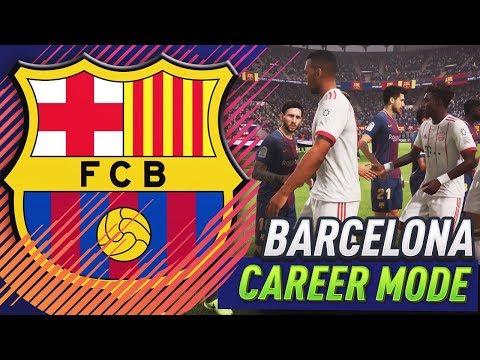 FIFA 18 BARCELONA CAREER MODE!!! #2 – CHAMPIONS LEAGUE FINAL!