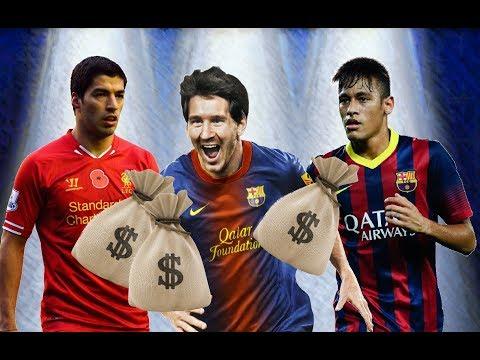 Barcelona FC Players Salaries 2017 HD II رواتب لاعبي فريق برشلونة