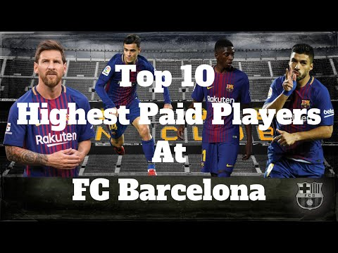 Top 10 Highest Paid Players At FC Barcelona At The Moment (2019)