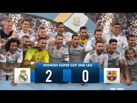 Real Madrid 2-0 Barcelona  HD 1080i (Spanish Super Cup) Full Match Highlights 16/08/17 HD