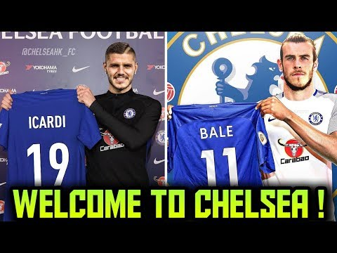 CHELSEA TRANSFER NEWS   TOP 10 Chelsea Transfer Targets 2018 ft Bale Icardi Lewandowski
