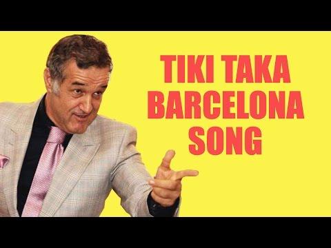 TIKI TAKA BARCELONA SONG