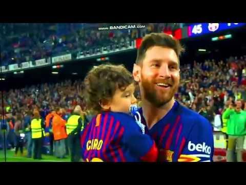 Perayaan Gelar Juara Barcelona Setelah Mengalahkan Levante 1-0 #28 april 2019