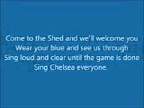 Chelsea FC anthem (lyrics)
