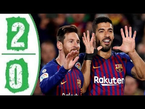 Barcelona vs Atletico Madrid 2-0 All Goals & Extended Highlights / Resumen y Goles – 2019 HD