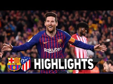 Ваrсеlоnа vs Аtlеtісо Маԁrіԁ 2-0 – Highlights & Goals Resumen & Goles 2019 HD