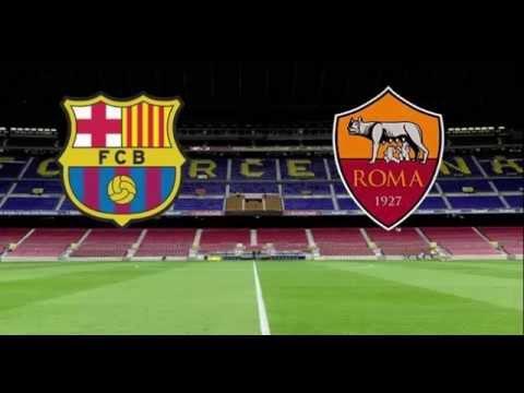 FC Barcelona VS AS Roma Live (24/11/2015)