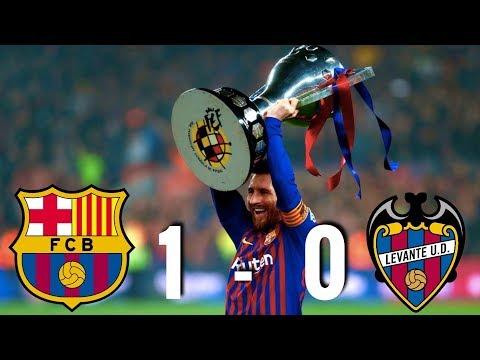 Barcelona vs Levante [1-0], La Liga 2019 – BARCELONA WIN LA LIGA – MATCH REVIEW