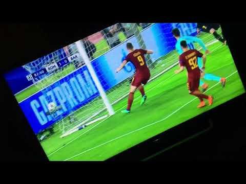 Kostas Manolas Goal vs Barcelona 10th of April 2018