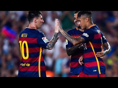 FC Barcelona vs AS Roma 3-0 All Goals & Highlights resumen completo 06/08/2015