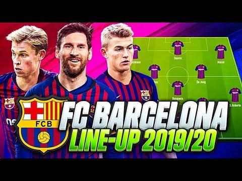 OMG! FC BARCELONA LINEUP 2019-2020 | w/ TRANSFERS DE JONG, NEYMAR, DE LIGT & GRIEZMANN | FIFA 20