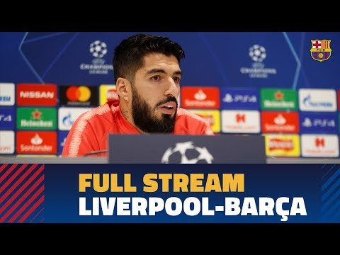 LIVERPOOL-BARÇA | Full press conference and training session