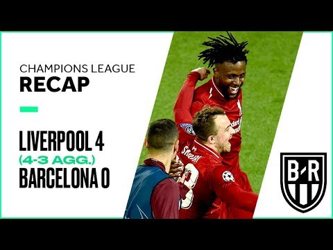 Liverpool 4-0 Barcelona (4-3 agg.): Champions League Recap with Highlights, Goals, and Best Moments