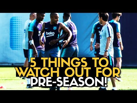 WHY PRE-SEASON IS IMPORTANT?! Barcelona US Tour 2018 | #BugaLuis