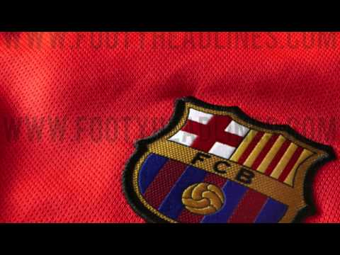 New Barcelona away kit 2014/2015 OFFICIAL