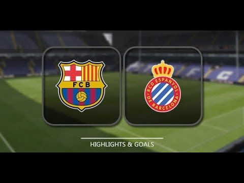 Barcelona vs Espanyol 2-0 (2-1) |  ALL GoaLs and  HIGHLIGHTS  | Copa del Rey 25/01/2018 HD | youtube