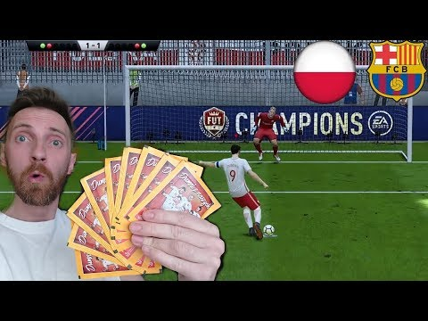 FIFA 18 KARNE CHALLENGE POLSKA VS FC BARCELONA – SASZETKI DUMNI Z NASZYCH
