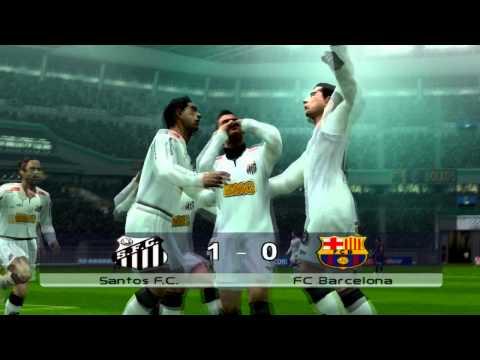 FIFA Club World Cup 2011 Final in PES6: FC Barcelona vs Santos FC (HD 720p)