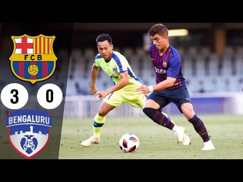 Bengaluru FC vs FC Barcelona B All Goals and Extended HIGHLIGHTS 14/08/2018   www.seo.com