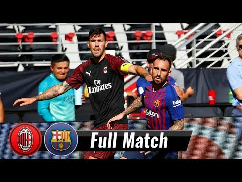 |HD| Barcelona vs AC Milan – Full Match | August 4, 2018 | International Cup 2018