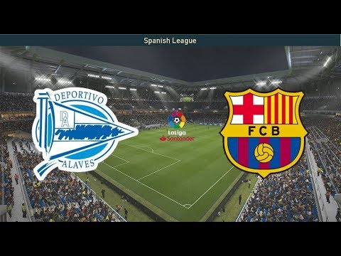 Deportivo Alaves vs Barcelona 24/04/2019 LaLiga Predictions | Pes 2019