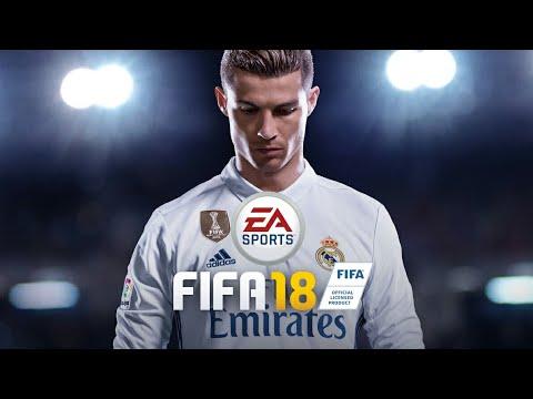 GAME PLAY SO FIFA 18 COM O MOD DE DLS JOGO 🔑🔑🔑.