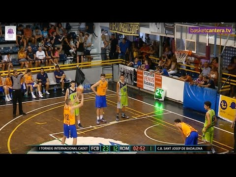 Directo: U16M – FC.BARCELONA vs. STELLA AZZURRA ROMA.- Torneo Cadete Sant Josep (BasketCantera.TV)