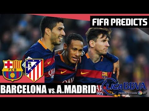 Barcelona vs Atlético Madrid | FIFA Predicts! (30/01/2016)
