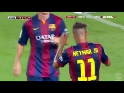 Barcelona vs Club Leon 6:0 All Goals And Highlights …. (,) HD [2014]