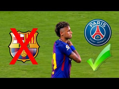 The day Neymar played his last match for Barcelona HD