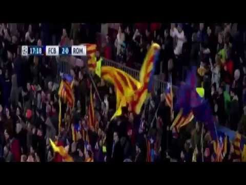 Amazing Goal of Lionel Messi – Barcelona vs AS Roma 6-1 (Champions League ) 2015