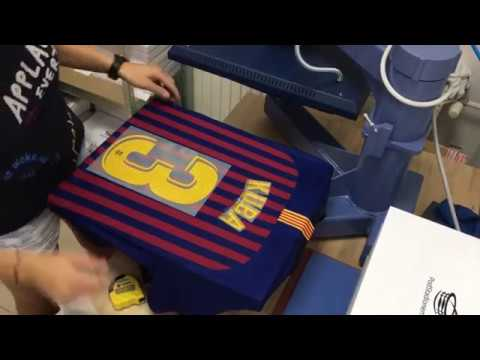 FC Barcelona home jersey 2018/2019 with official custom print