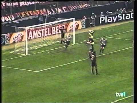 2000 October 18 AC Milan Italy 3 Barcelona Spain 3 Champions League